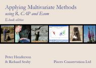 Applying Multivariate Methods using R, CAP and Ecom (Download)